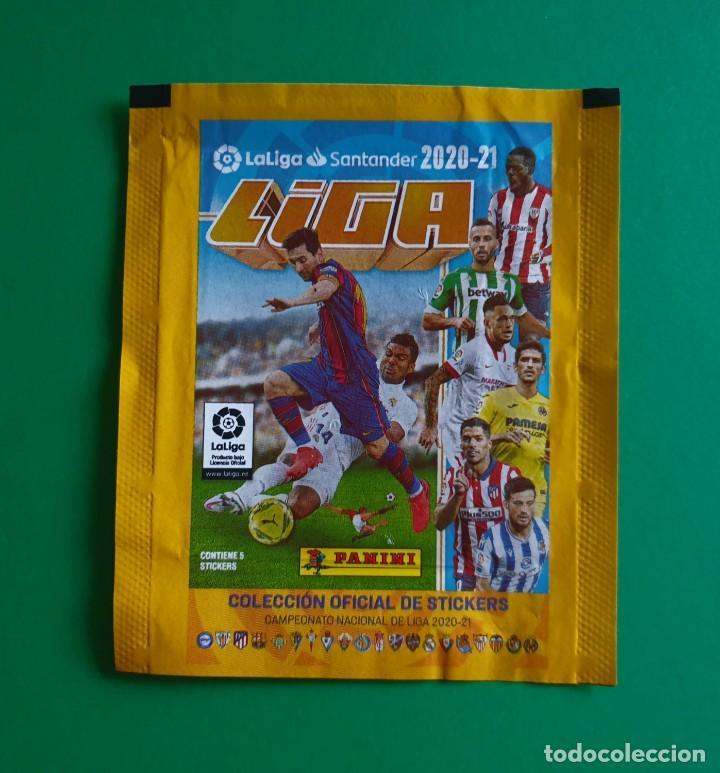 SOBRE VACÍO DE CROMOS DE FÚTBOL EDICIONES ESTE 2020-21 (EDICIÓN BRASIL) - MODELO STICKERS - 20/21 (Coleccionismo Deportivo - Álbumes y Cromos de Deportes - Cromos de Fútbol)