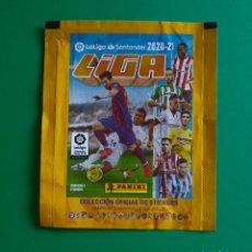 Cromos de Fútbol: SOBRE VACÍO DE CROMOS DE FÚTBOL EDICIONES ESTE 2020-21 (EDICIÓN BRASIL) - MODELO STICKERS - 20/21. Lote 262825265