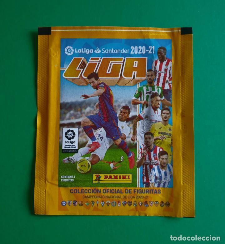 SOBRE VACÍO DE CROMOS DE FÚTBOL EDICIONES ESTE 2020-21 (EDICIÓN BRASIL) - MODELO FIGURITAS - 20/21 (Coleccionismo Deportivo - Álbumes y Cromos de Deportes - Cromos de Fútbol)