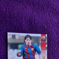 Cromos de Fútbol: MESSI MEGACRAK 2004 #71 BIS ORIGINAL FC BARCELONA. Lote 254533625
