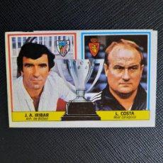 Cromos de Fútbol: IRIBAR BILBAO L COSTA ESTE 1986 1987 CROMO LIGA FUTBOL 86 87 - DESPEGADO - 1895. Lote 262906965