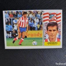 Cromos de Fútbol: LANDABURU AT MADRID ESTE 1986 1987 CROMO LIGA FUTBOL 86 87 - DESPEGADO - 1902. Lote 262907400