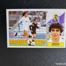 Cromos de Fútbol: SANCHIS REAL MADRID ESTE 1986 1987 CROMO LIGA FUTBOL 86 87 - DESPEGADO - 1907. Lote 262907905