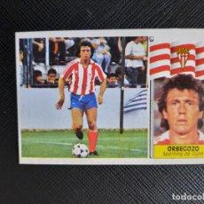 Cromos de Fútbol: ORBEGOZO SPORTING GIJON ESTE 1986 1987 CROMO LIGA FUTBOL 86 87 - DESPEGADO - 1911. Lote 262908480