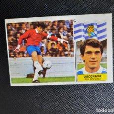 Cromos de Fútbol: ARCONADA REAL SOCIEDAD ESTE 1986 1987 CROMO LIGA FUTBOL 86 87 - DESPEGADO - 1913. Lote 262908660