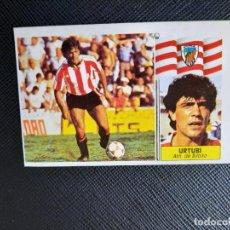 Cromos de Fútbol: URTUBI BILBAO ESTE 1986 1987 CROMO LIGA FUTBOL 86 87 - DESPEGADO - 1914. Lote 262908695