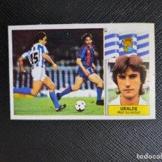 Cromos de Fútbol: URALDE REAL SOCIEDAD ESTE 1986 1987 CROMO LIGA FUTBOL 86 87 - DESPEGADO - 1916 BAJA. Lote 262908795