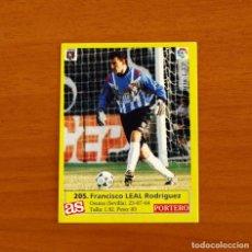 Cromos de Fútbol: MÉRIDA - 205 LEAL - DIARIO AS 1995-1996, 95-96 - NUNCA PEGADO. Lote 262918015