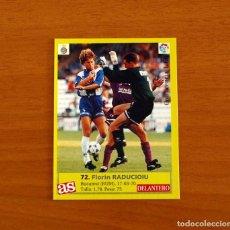 Cromos de Fútbol: R.C.D. ESPAÑOL, ESPANYOL - 72 RADUCIOIU - DIARIO AS 1995-1996, 95-96 - NUNCA PEGADO. Lote 262918145