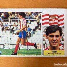 Cromos de Fútbol: TINO SPORTING DE GIJÓN 86-87 ESTE NUNCA PEGADO. Lote 262918175