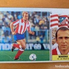 Cromos de Fútbol: MARINA AT MADRID 86-87 ESTE NUNCA PEGADO. Lote 262918730