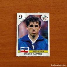 Cromos de Fútbol: YUGOSLAVIA - 277 KATANEC - MUNDIAL ITALIA 90 - EDITORIAL PANINI 1990 - NUNCA PEGADO. Lote 262918740