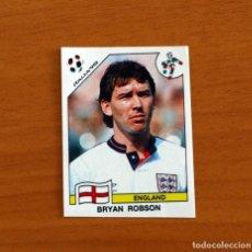 Cromos de Fútbol: INGLATERRA - 395, BRYAN ROBSON - MUNDIAL ITALIA 90 - EDITORIAL PANINI 1990 - NUNCA PEGADO. Lote 262918870