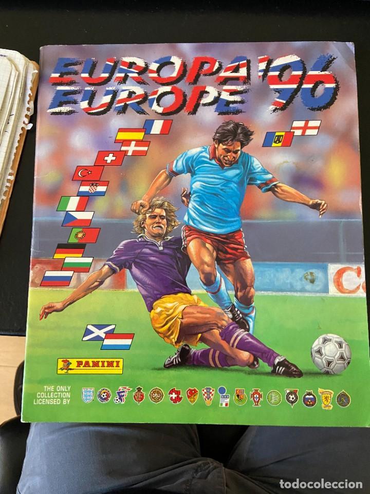 EUROPA 96 COMPLETO BUEN ESTADO (Coleccionismo Deportivo - Álbumes y Cromos de Deportes - Cromos de Fútbol)