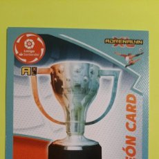 Cromos de Fútbol: CROMO 471 CAMPEON CARD ADRENALYN 20-21. Lote 263000485