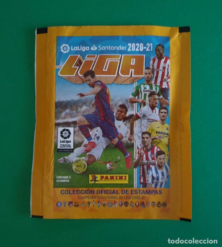 SOBRE VACÍO DE CROMOS DE FÚTBOL EDICIONES ESTE 2020-21 (EDICIÓN BRASIL) - MODELO ESTAMPAS - 20/21 (Coleccionismo Deportivo - Álbumes y Cromos de Deportes - Cromos de Fútbol)