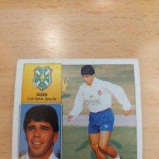Cromos de Futebol: CROMO 92/93 LIGA ESTE. ISIDRO. TENERIFE. NUNCA PEGADO.. Lote 263095205