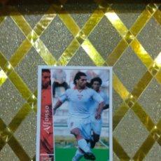 Cromos de Fútbol: CROMO DE FUTBOL ALFONSO SEVILLA NUMERO 587 + LAS FICHAS DE LA LIGA 2003 MUNDICROMO *. Lote 263097045