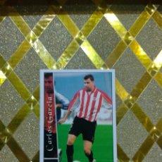 Cromos de Fútbol: CROMO DE FUTBOL CARLOS GARCIA ATHLETIC BILBAO NUMERO 589 + LAS FICHAS DE LA LIGA 2003 MUNDICROMO *. Lote 263097050