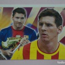 Figurine di Calcio: CROMO DE FUTBOL MESSI DEL F.C.BARCELONA SIN PEGAR Nº 146 AÑO 2013-2014 DE PANINI. Lote 263144565