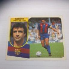 Cromos de Fútbol: CROMO ALEXANCO BARCELONA 91 92. Lote 263163155