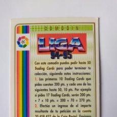Cromos de Fútbol: MUNDICROMO 1994 1995 94 95 COMODÍN. Lote 263163350