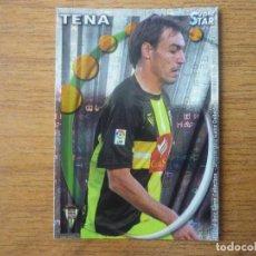 Cromos de Fútbol: MUNDICROMO 2011 PLATINUM Nº 921 TENA (CORDOBA) SUPERSTAR BRILLO LETRAS - 2010 11. Lote 263163785
