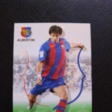 Cromos de Fútbol: ALBERTINI BARCELONA PANINI MEGACRACKS CAMPIO BARCA 04 05 CROMO FUTBOL 2004 2005 - A34 - 58. Lote 263597100