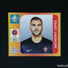 Cromos de Fútbol: #660 ANTHONY LOPES PORTUGAL EURO 2020 TOURNAMENT EDITION PANINI STICKERS. Lote 263620105