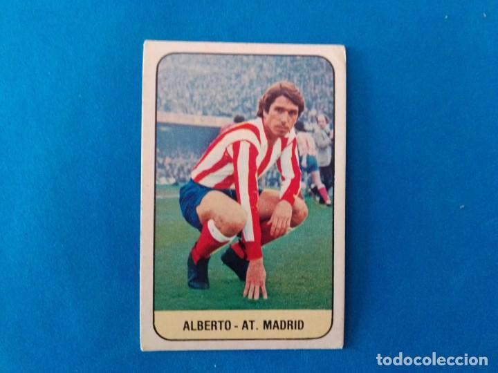 ALBERTO AT ATLETICO DE MADRID LIGA 78 79 EDICIONES ESTE 1978 1979 CROMO SIN PEGAR (Coleccionismo Deportivo - Álbumes y Cromos de Deportes - Cromos de Fútbol)