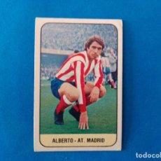 Cromos de Fútbol: ALBERTO AT ATLETICO DE MADRID LIGA 78 79 EDICIONES ESTE 1978 1979 CROMO SIN PEGAR. Lote 263620495