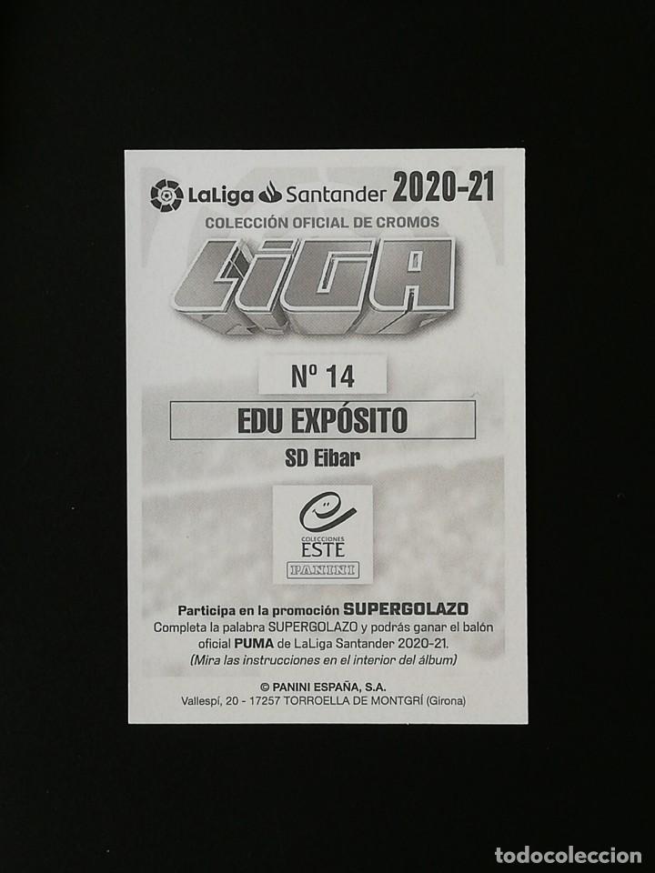 Cromos de Fútbol: EIB14 14 EDU EXPOSITO SD EIBAR 2020 2021 EDICIONES ESTE 20 21 PANINI - Foto 2 - 263620680
