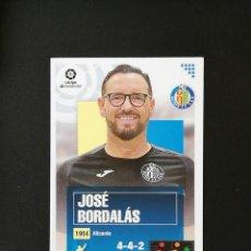 Cromos de Fútbol: GET01 1 JOSE BORDALAS GETAFE 2020 2021 EDICIONES ESTE 20 21 PANINI. Lote 263620800