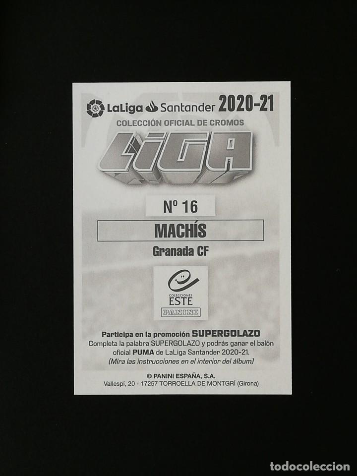 Cromos de Fútbol: GRA16 16 MACHIS GRANADA 2020 2021 EDICIONES ESTE 20 21 PANINI - Foto 2 - 263620870