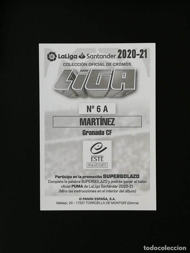 Cromos de Fútbol: GRA06 6 A MARTINEZ GRANADA 2020 2021 EDICIONES ESTE 20 21 PANINI - Foto 2 - 263620955