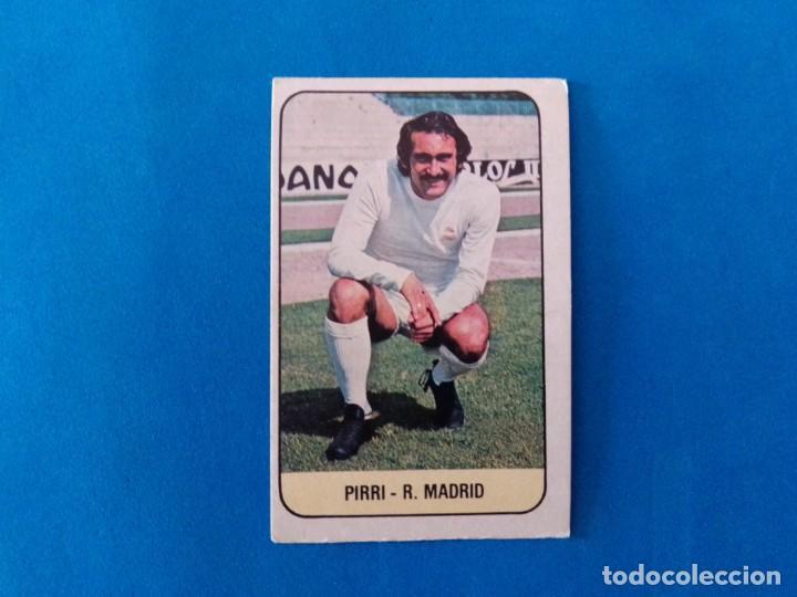 PIRRI REAL MADRID LIGA 78 79 EDICIONES ESTE 1978 1979 CROMO SIN PEGAR (Coleccionismo Deportivo - Álbumes y Cromos de Deportes - Cromos de Fútbol)