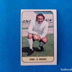 Cromos de Fútbol: PIRRI REAL MADRID LIGA 78 79 EDICIONES ESTE 1978 1979 CROMO SIN PEGAR. Lote 263621100