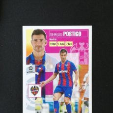 Cromos de Fútbol: LEV06 6 POSTIGO LEVANTE 2020 2021 EDICIONES ESTE 20 21 PANINI. Lote 263621115