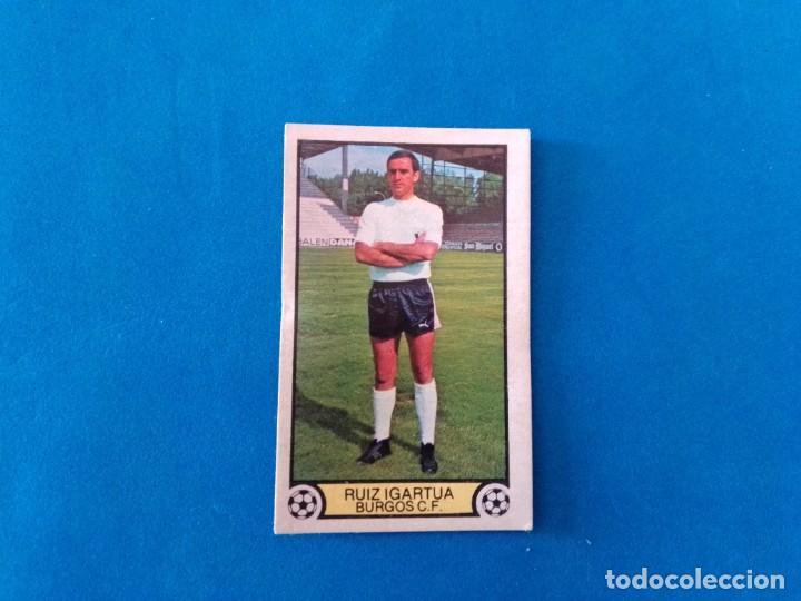 RUIZ IGARTUA BURGOS 79 80 EDICIONES ESTE 1979 1980 CROMO SIN PEGAR (Coleccionismo Deportivo - Álbumes y Cromos de Deportes - Cromos de Fútbol)