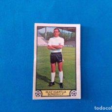 Cromos de Fútbol: RUIZ IGARTUA BURGOS 79 80 EDICIONES ESTE 1979 1980 CROMO SIN PEGAR. Lote 263621390