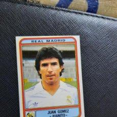 Cartes à collectionner de Football: JUANITO REAL MADRID PANINI 1982 CROMO FUTBOL LIGA 82 - SIN PEGAR - 220. Lote 263959560
