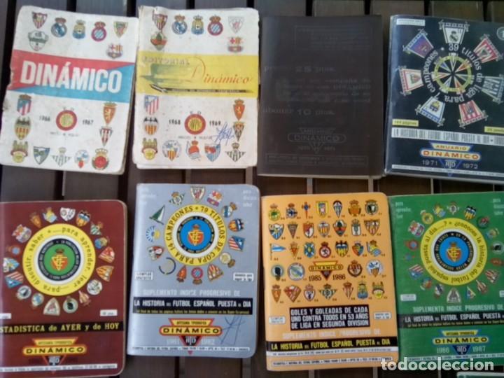 Cromos de Fútbol: LOTE DE 23 ANUARIOS DINAMICO TEMPORADAS DE FUTBOL TEMP66/67 HASTA 2004/5 - Foto 2 - 264348974
