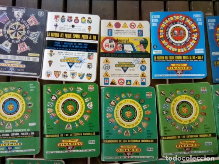 Cromos de Fútbol: LOTE DE 23 ANUARIOS DINAMICO TEMPORADAS DE FUTBOL TEMP66/67 HASTA 2004/5 - Foto 3 - 264348974
