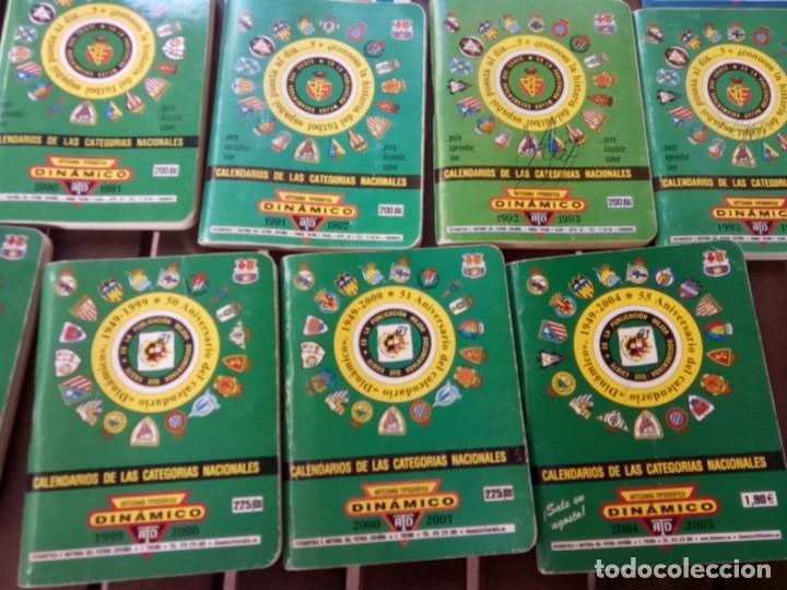 Cromos de Fútbol: LOTE DE 23 ANUARIOS DINAMICO TEMPORADAS DE FUTBOL TEMP66/67 HASTA 2004/5 - Foto 5 - 264348974
