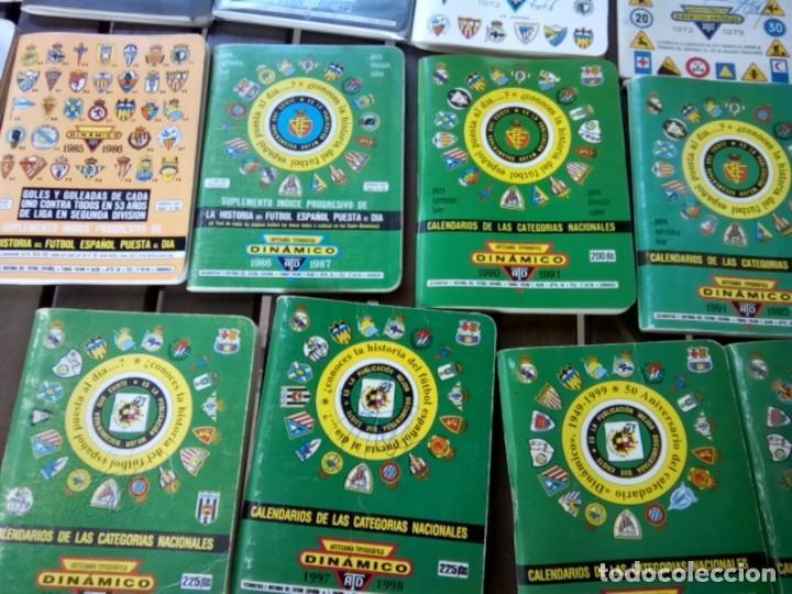 Cromos de Fútbol: LOTE DE 23 ANUARIOS DINAMICO TEMPORADAS DE FUTBOL TEMP66/67 HASTA 2004/5 - Foto 6 - 264348974