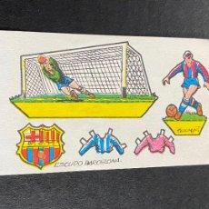 Cromos de Fútbol: CHOCOLATES RAPOSO RECORTABLE BARÇA. Lote 264830919