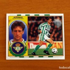 Cromos de Futebol: BETIS - ALFONSO - COLOCA - EDICIONES ESTE 1996-1997, 96-97 - NUNCA PEGADO. Lote 265151889