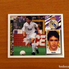 Cromos de Futebol: REAL MADRID - RAÚL - EDICIONES ESTE 1997-1998, 97-98 - NUNCA PEGADO. Lote 265154044
