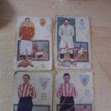 Cromos de Fútbol: MAGNIFICCOS 48 CROMOS ANTIGUOS DE FUTBOL LA MAYORIA TARGETA POSTAL. Lote 265434729