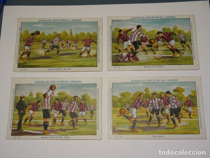 Cromos de Fútbol: COLECCION COMPLETA - ENSEÑANZA DEL JUEGO DE FOOT-BALL ASOCIACION , COLECCION DE 25 CROMOS , AÑOS 20 - Foto 3 - 265460574